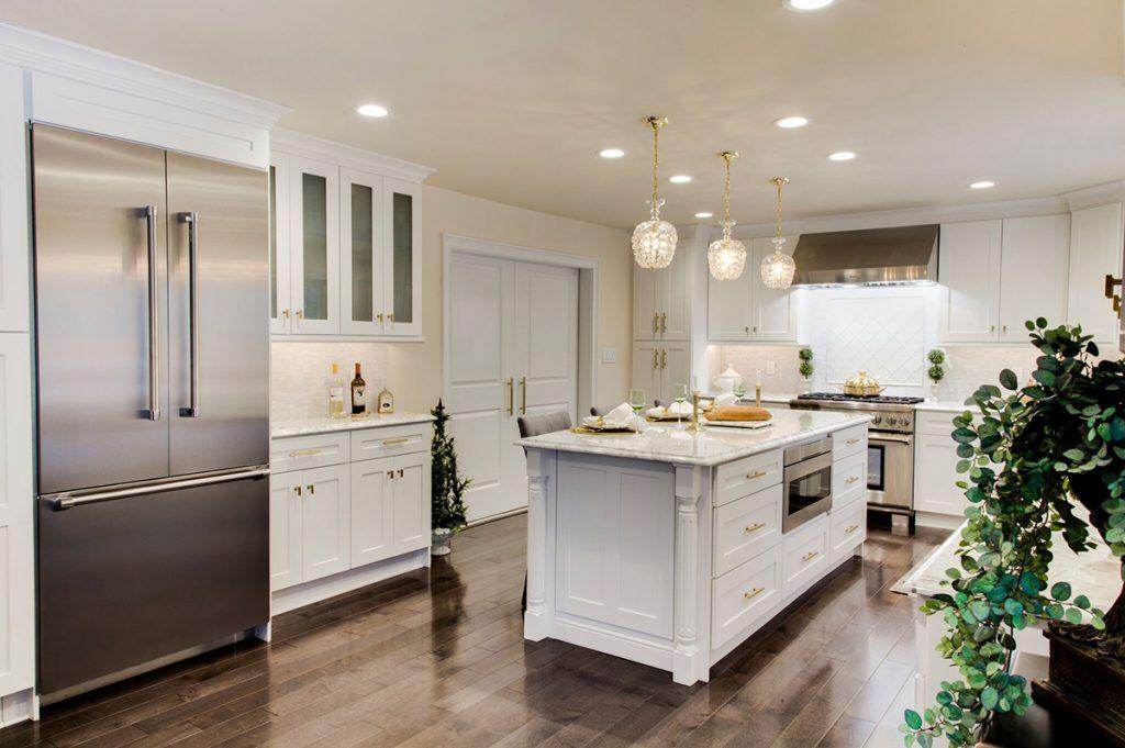 Dove White Shaker kitchen